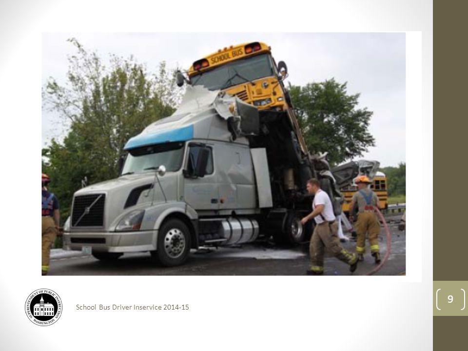School Bus Driver Inservice 2014-15 9