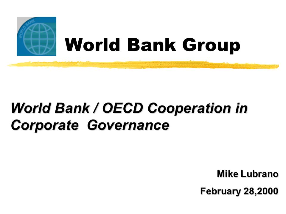 WBG Mission: Alleviate poverty in client countries through its lending and advisory activities