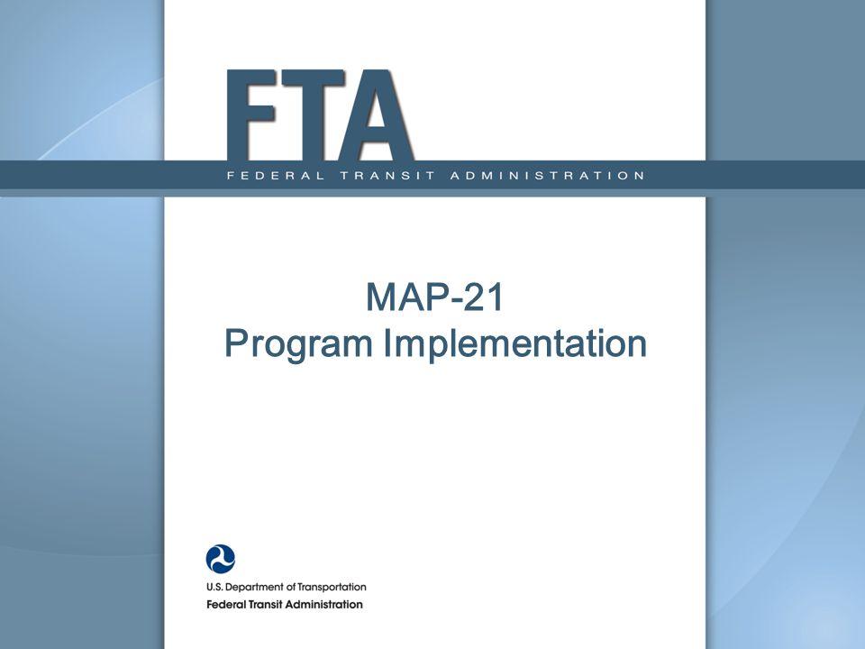 MAP-21 Program Implementation