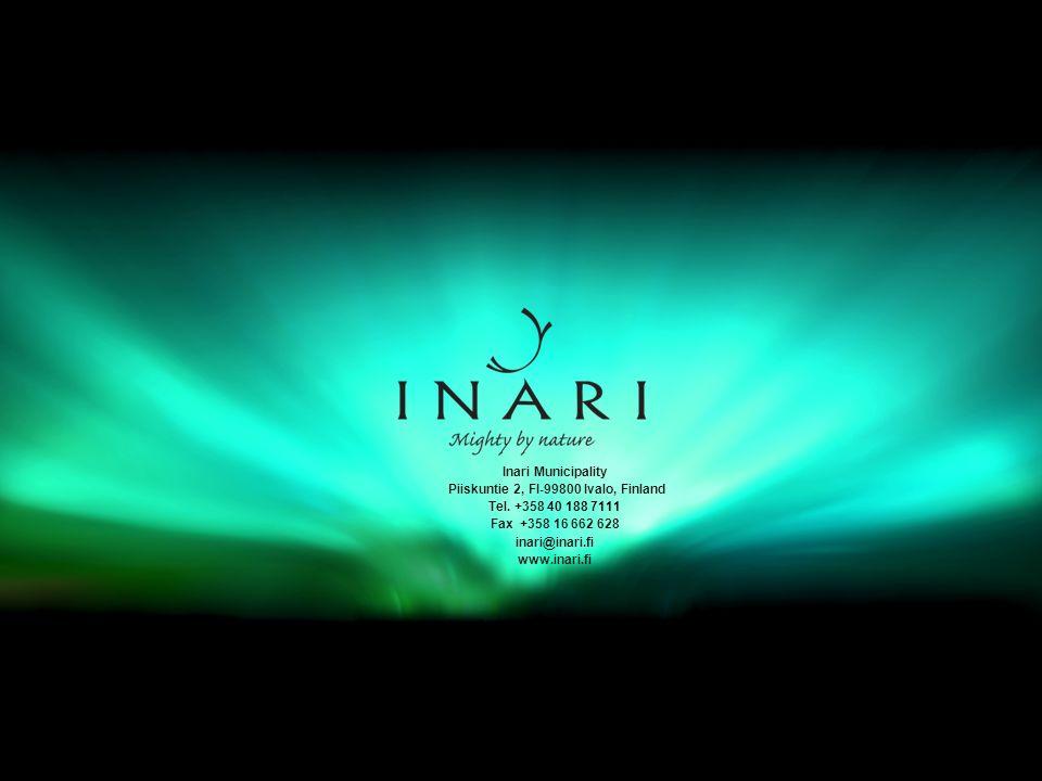 www.inari.fi Inari Municipality Piiskuntie 2, FI-99800 Ivalo, Finland Tel.
