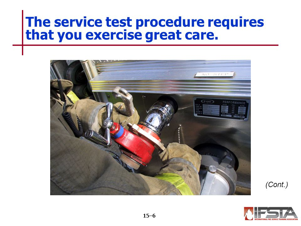 CAUTION All personnel operating in the area of the pressurized hose should wear at least a helmet as a safety precaution.