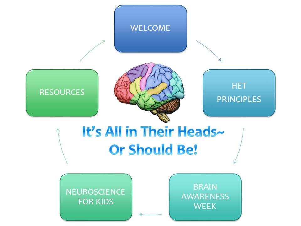 WELCOME HET PRINCIPLES BRAIN AWARENESS WEEK NEUROSCIENCE FOR KIDS RESOURCES