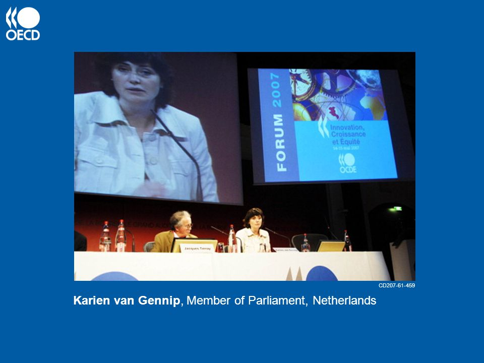 Karien van Gennip, Member of Parliament, Netherlands CD207-61-459