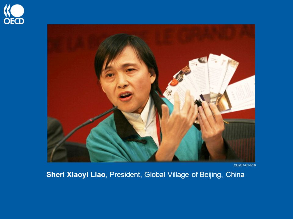 Sheri Xiaoyi Liao, President, Global Village of Beijing, China CD207-61-516