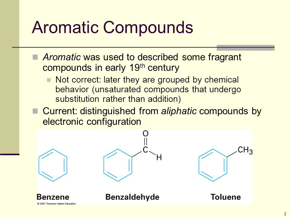 23 Polycyclic Aromatic Compounds Aromatic compounds can have rings that share a set of carbon atoms (fused rings) Compounds from fused benzene or aromatic heterocycle rings are themselves aromatic