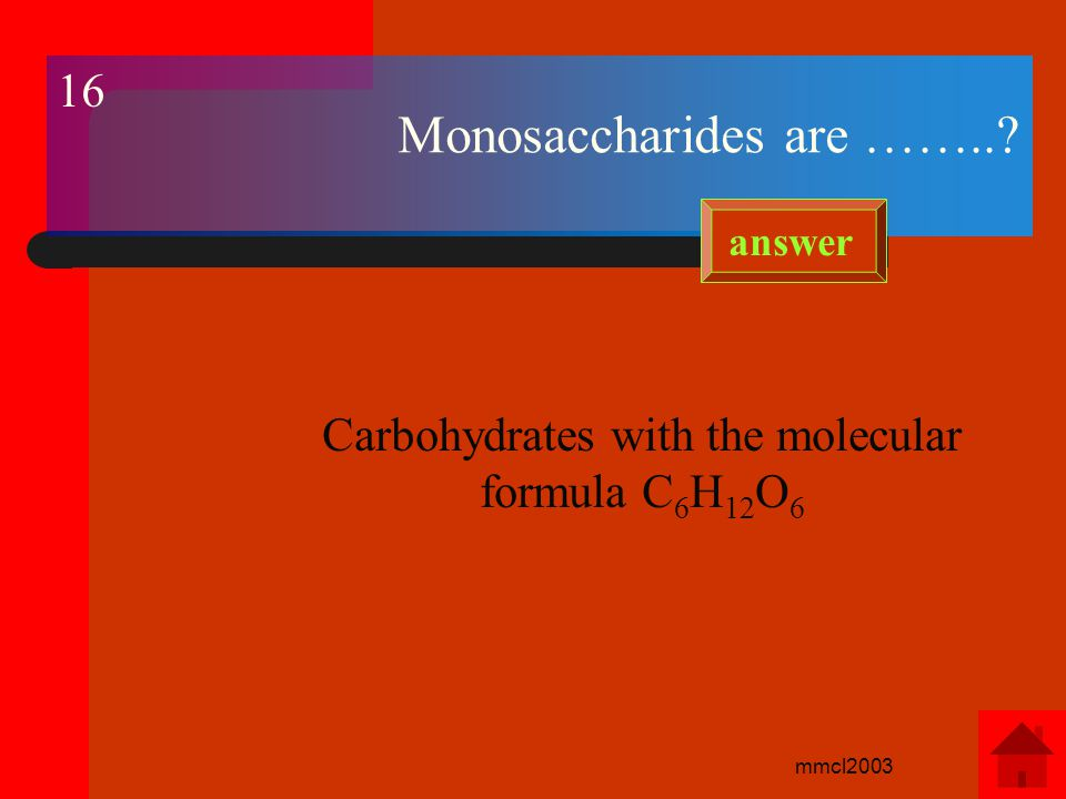mmcl2003 Give examples of alcoholic drinks and the source of carbohydrate from which they are made.