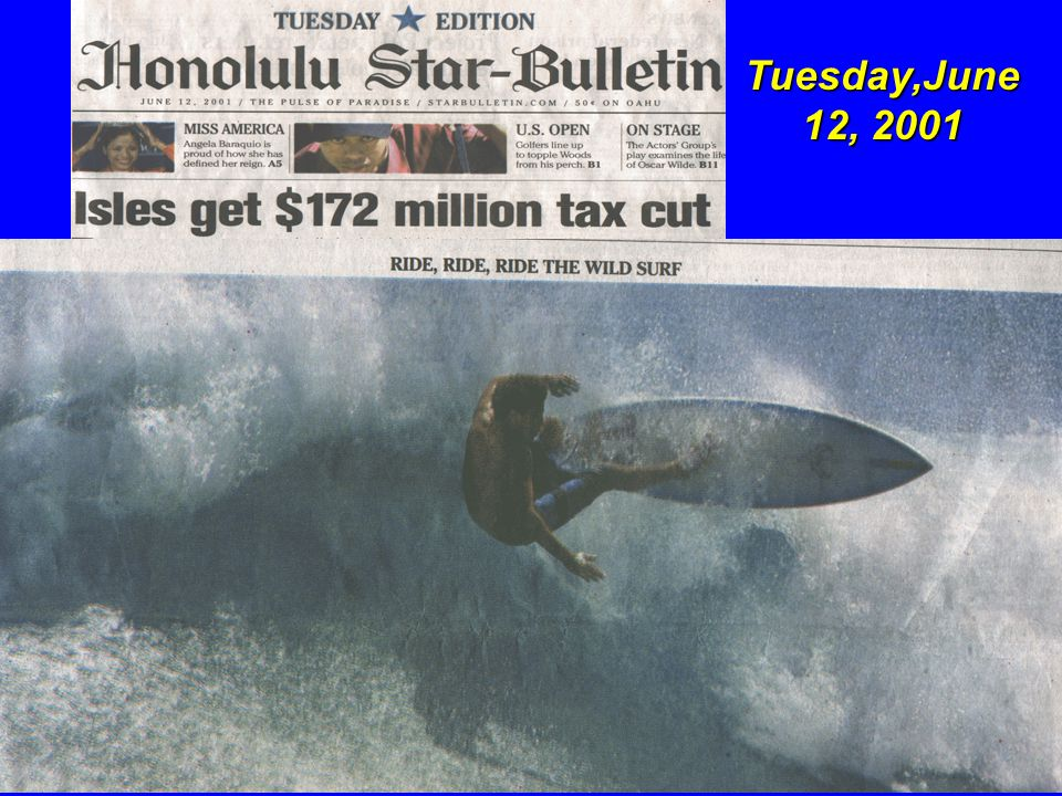Tuesday,June 12, 2001