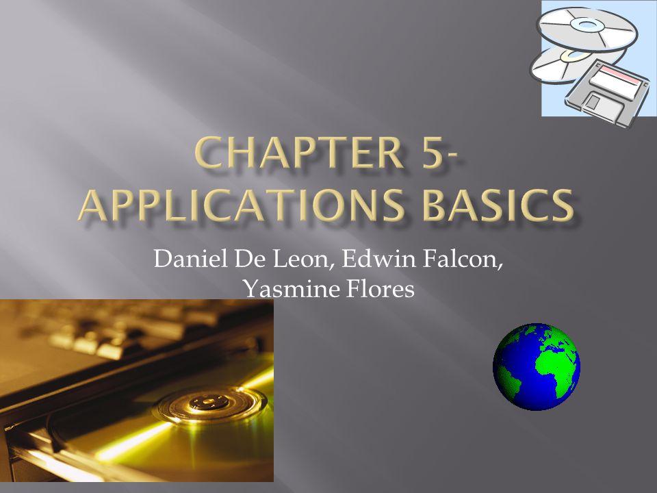 Daniel De Leon, Edwin Falcon, Yasmine Flores