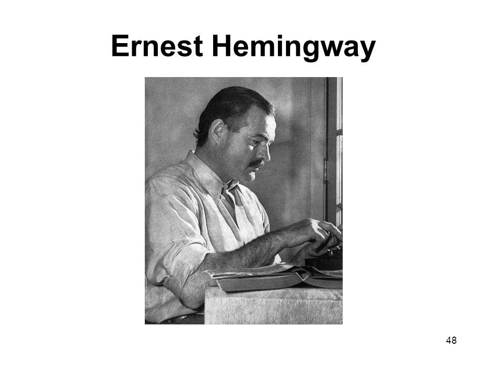 Ernest Hemingway 48
