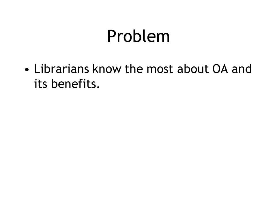 Support OA journals (3): Recognize them Put OA journal records in the library catalogue Support faculty in editing and launching them Give them due weight in hiring, promotion, and tenure But don't over-recognize them –OA to peer-reviewed research through repositories is just as good