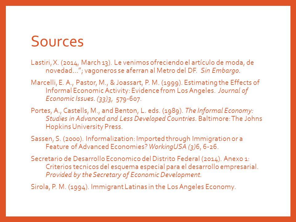 Sources Lastiri, X. (2014, March 13).