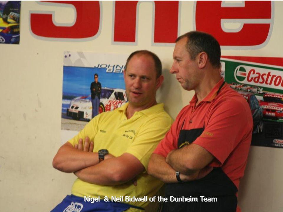 Nigel & Neil Bidwell of the Dunheim Team