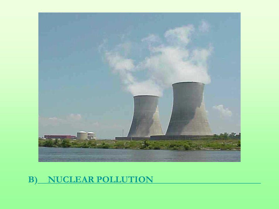 B)________________________________________________NUCLEAR POLLUTION