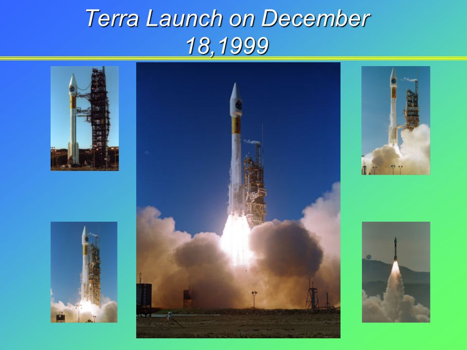 Terra Launch on December 18,1999