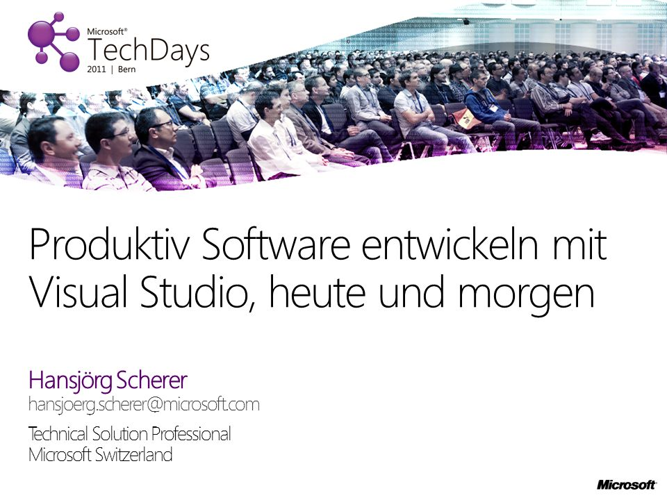 21.Oktober 2011 im Kurssaal Bern Heute