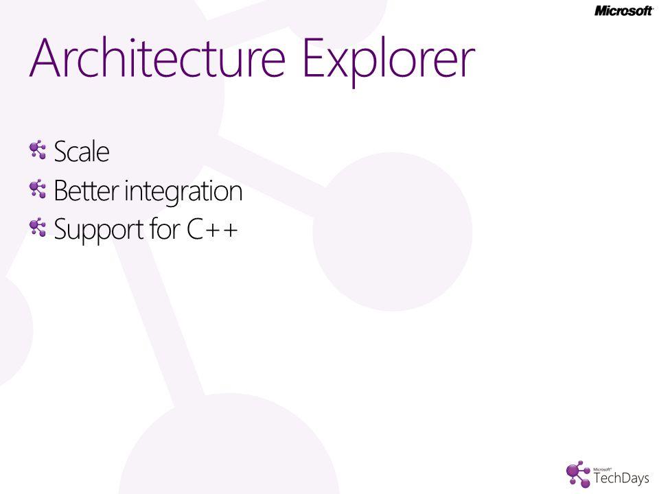Architecture explorer demo…