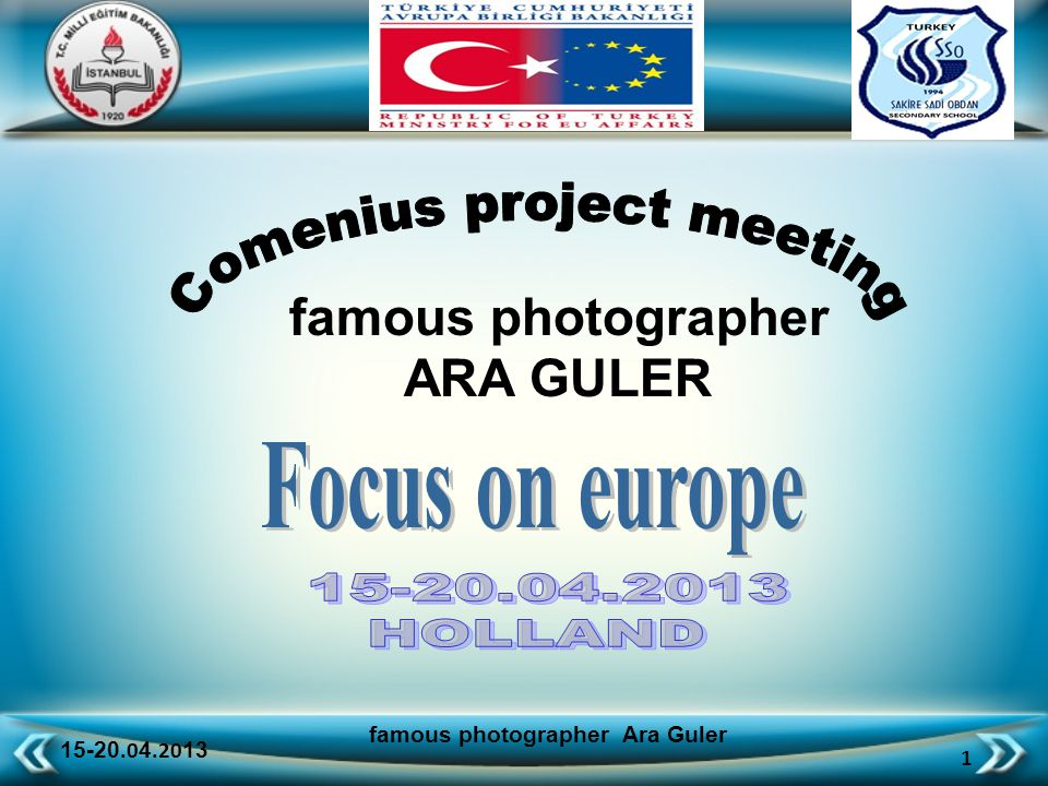 15-20.0 4.20 13 52 famous photographer Ara Guler colored Istanbul