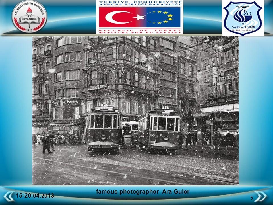 15-20.0 4.20 13 46 famous photographer Ara Guler ancient Istanbul