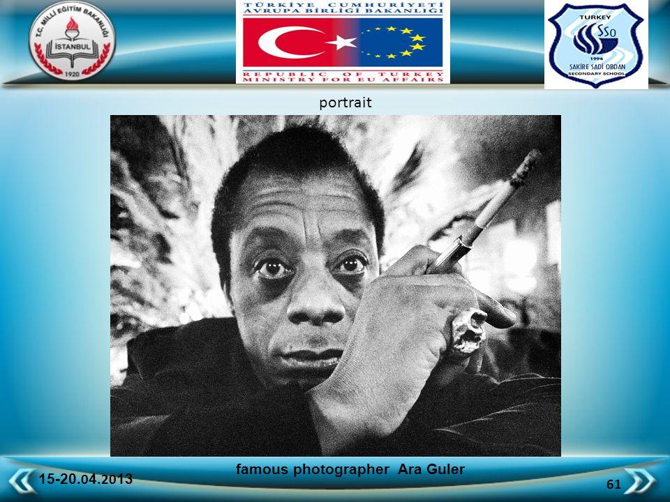 15-20.0 4.20 13 61 famous photographer Ara Guler portrait