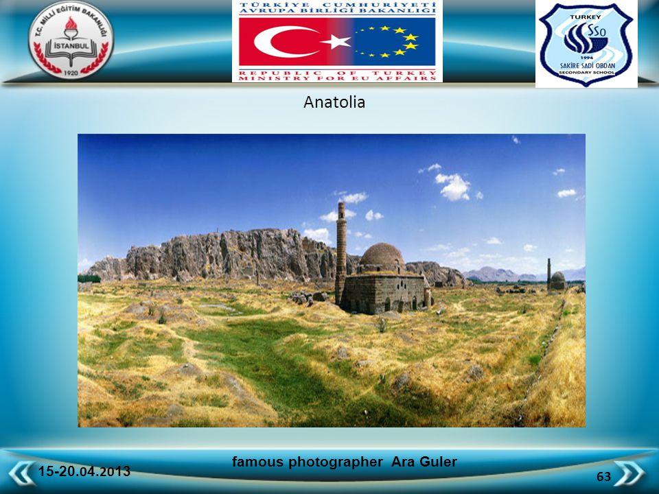 15-20.0 4.20 13 63 famous photographer Ara Guler Anatolia
