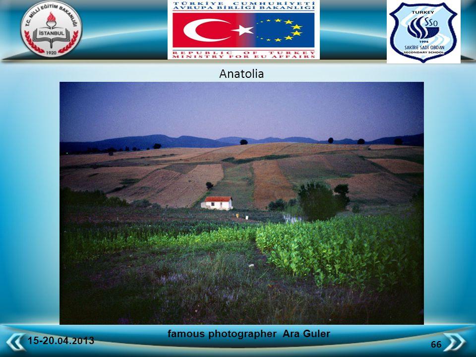 15-20.0 4.20 13 66 famous photographer Ara Guler Anatolia