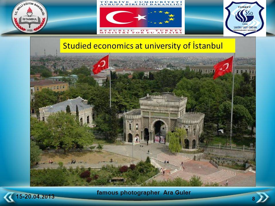 15-20.0 4.20 13 49 famous photographer Ara Guler colored Istanbul
