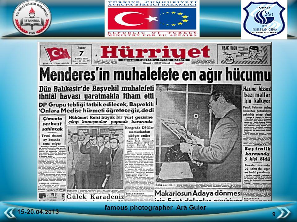 15-20.0 4.20 13 40 famous photographer Ara Guler A SELECTION OF PHOTOGRAPHS ANCIENT ISTANBUL