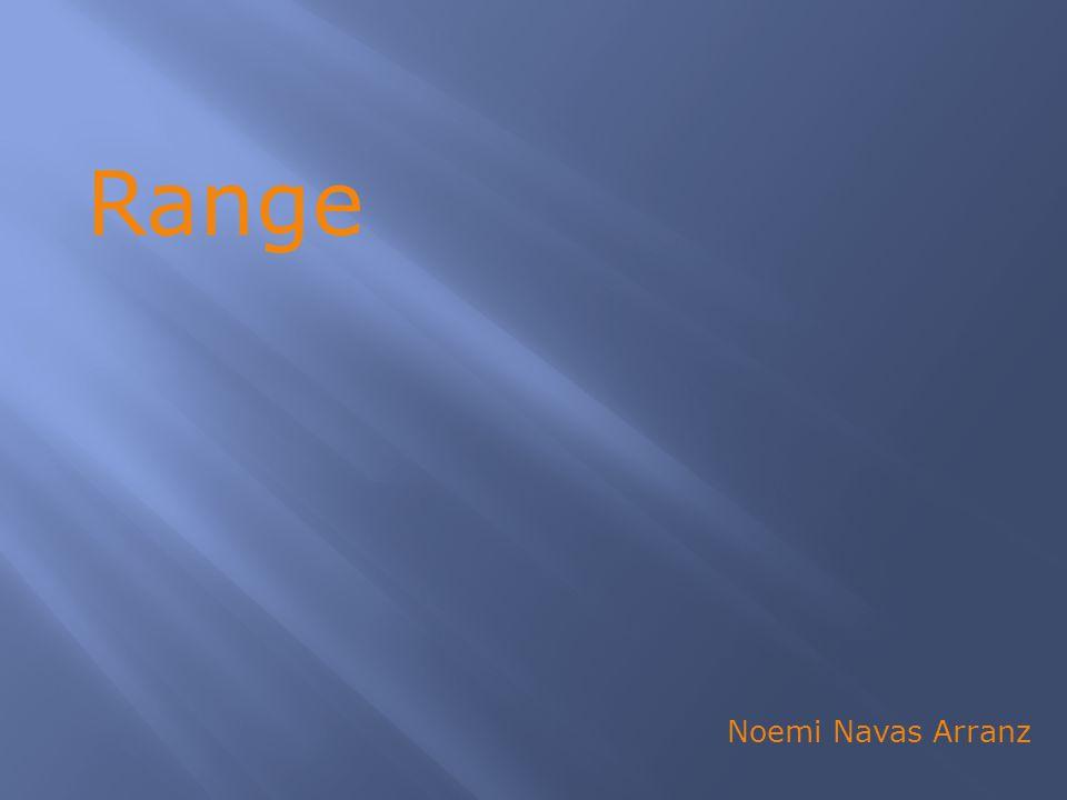 Range Noemi Navas Arranz