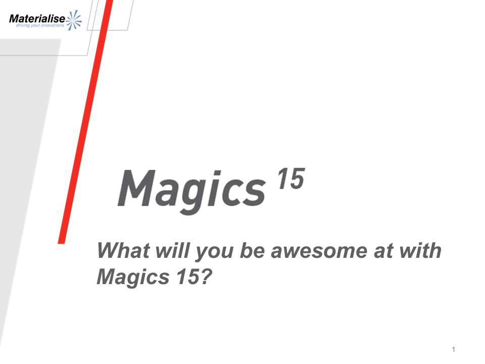 1 What will you be awesome at with Magics 15