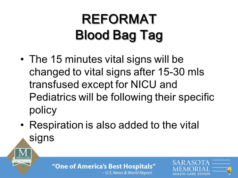 REVISED POLICIES The form #905412 will be eliminated Blood transfusion will be included in the Handoff Communication policy Patient will not be transferred until 15- 30 mls of blood transfused