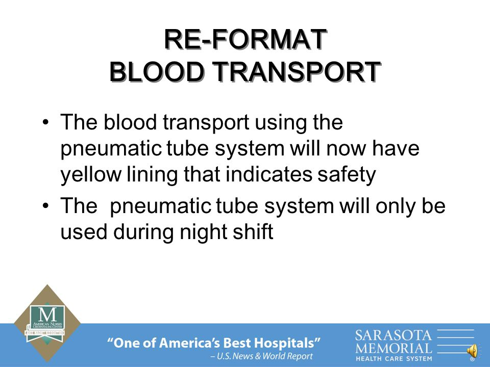 RE-FORMAT BLOOD ID BAND Apply the smallest patient EZ ID label to the R band The blood band is now ¾'' wide to accommodate the patient ID label