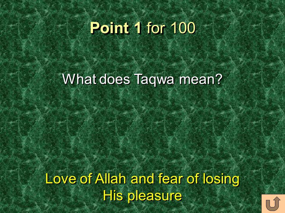 Address to Lajna USA Point 1 Address to Lajna USA Point 2 Address to Lajna USA Point 3 Address to Lajna USA Point 4 Friday Sermon (2/17/12) 100 200 30