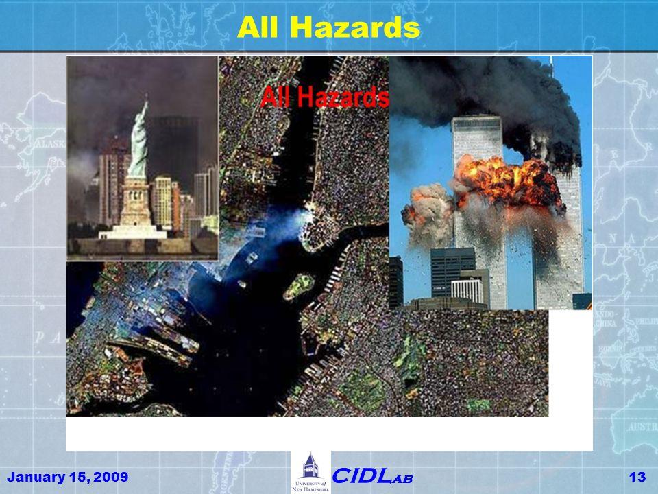 January 15, 200913 CIDL ab All Hazards