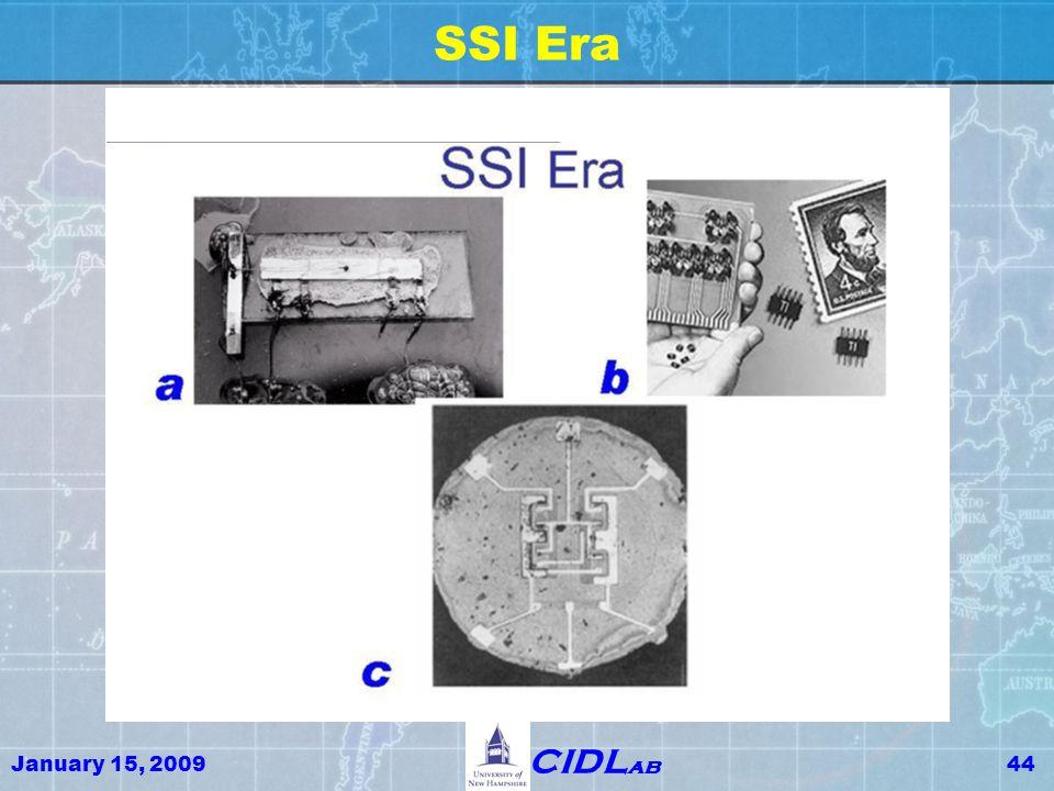 January 15, 200944 CIDL ab SSI Era
