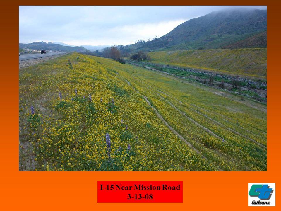 I-15 Near Mission Road 3-13-08
