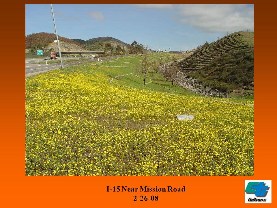 I-15 Near Mission Road 2-26-08