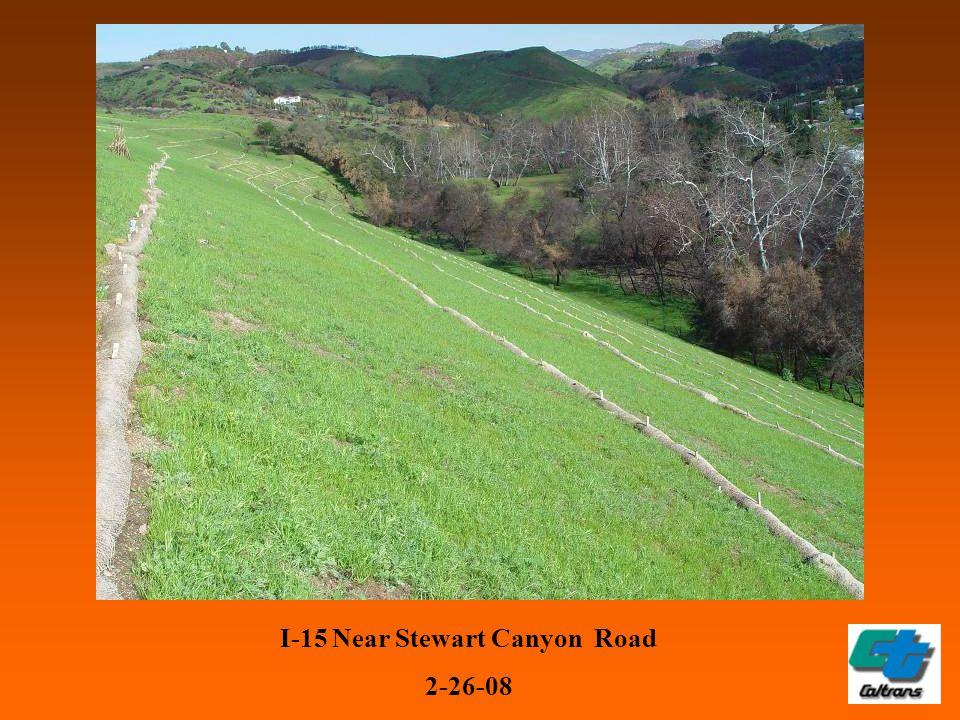 I-15 Near Stewart Canyon Road 2-26-08