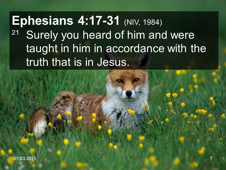 07.03.201118 1. A Little Fox Called __________________ Self-Centeredness