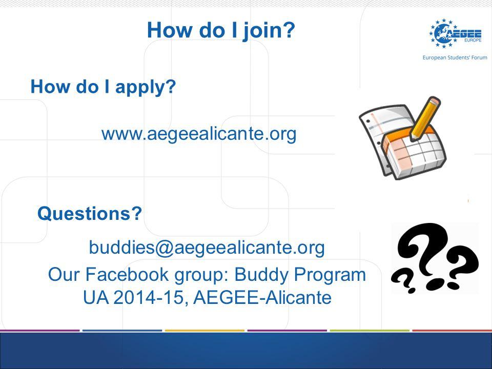 How do I join. How do I apply.