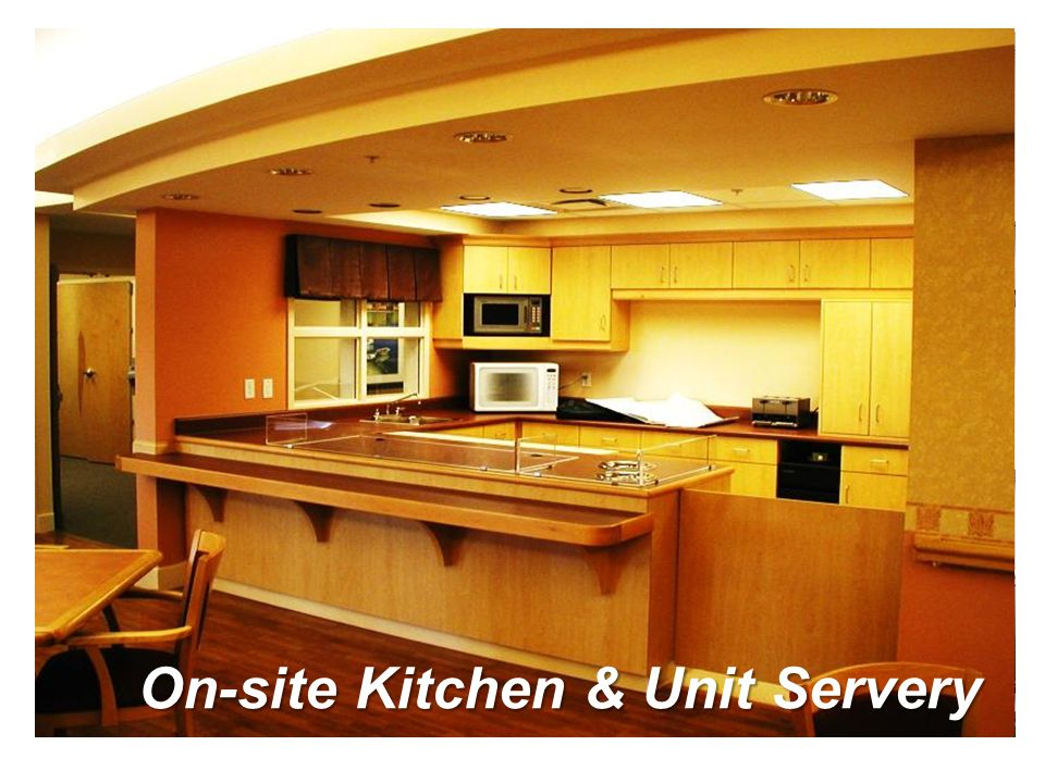 On-site Kitchen & Unit Servery