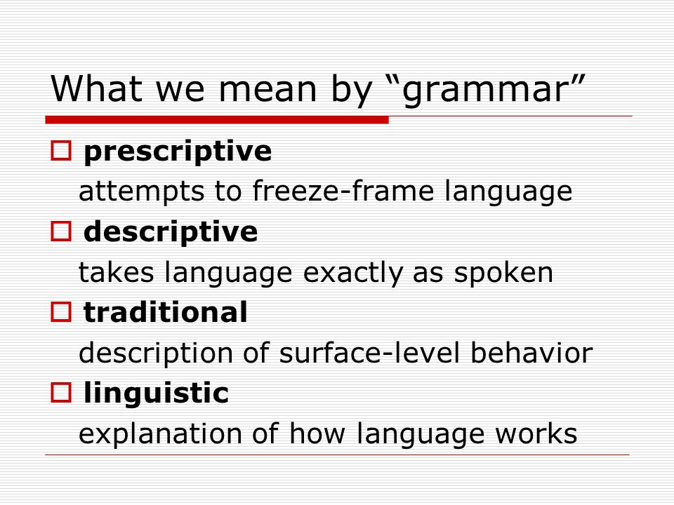 The take-home message with regard to German word order  By relying on traditional grammar descriptions of surface behavior,  we may actually be complicating things conceptually, making the learning process more difficult for our students unnecessarily