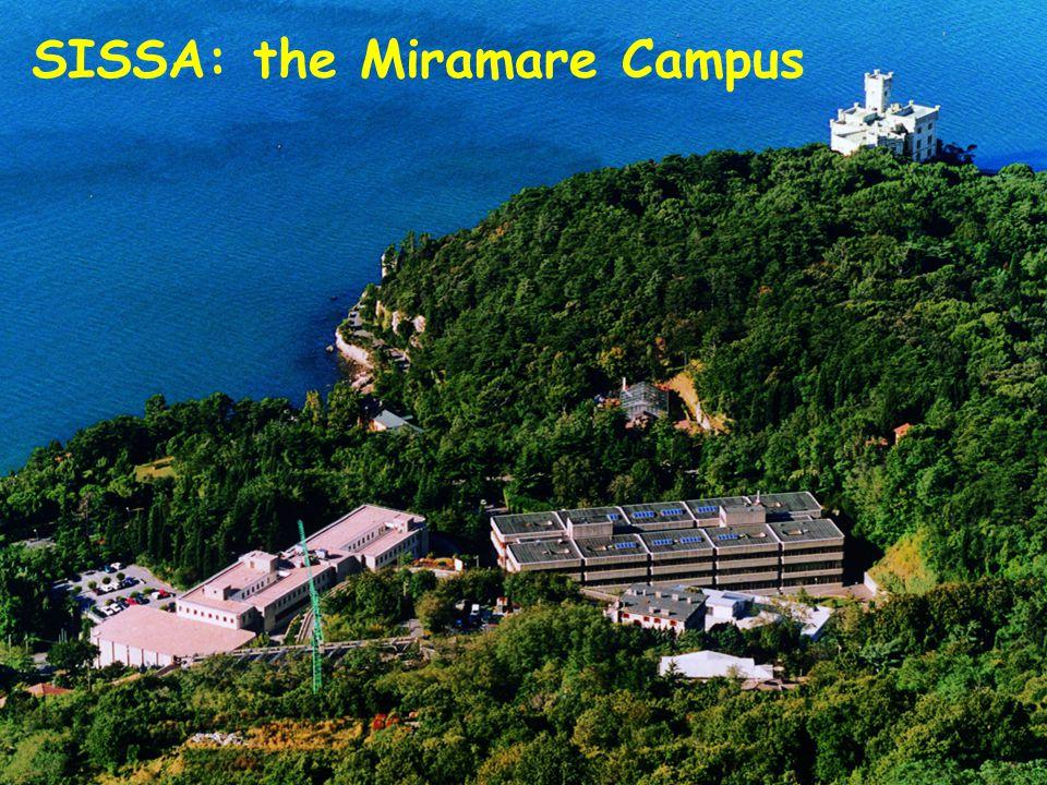 SISSA: the Miramare Campus