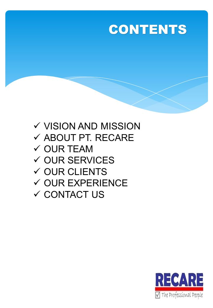 VISION AND MISSION ABOUT PT.