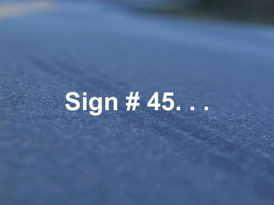 A.Curve ahead – maximum safe speed 35 mph B.Speed limit 35 C.Sharp curve ahead