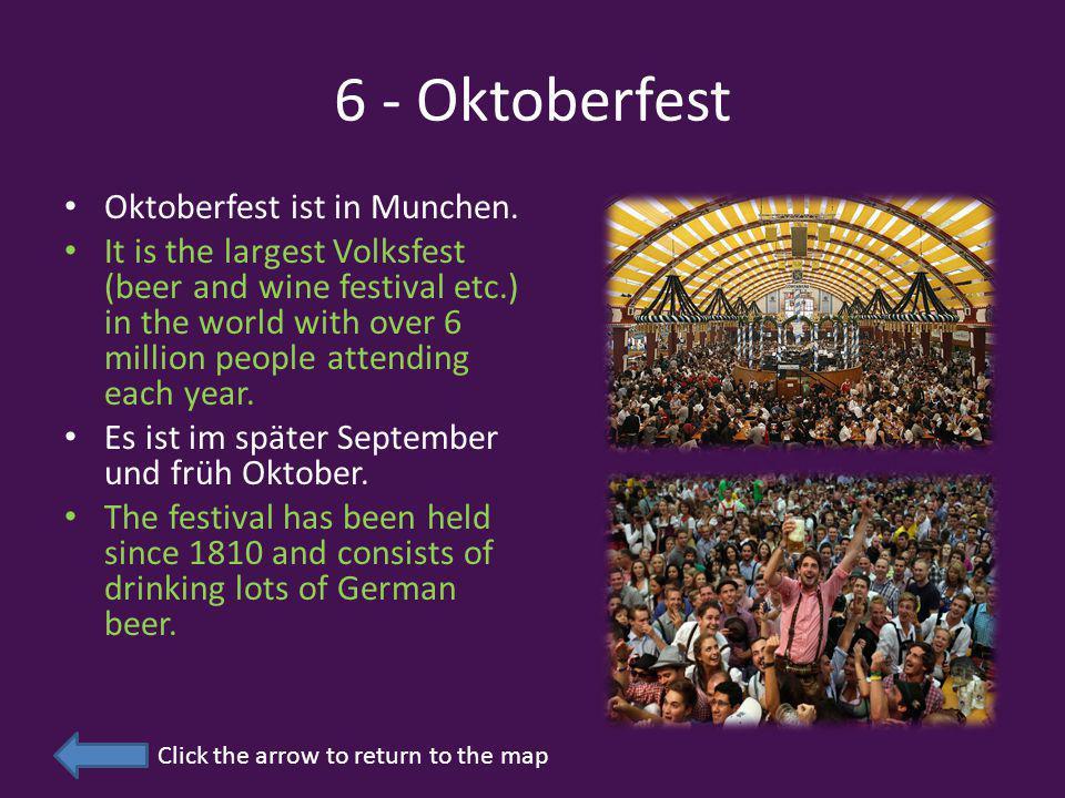 6 - Oktoberfest Oktoberfest ist in Munchen.