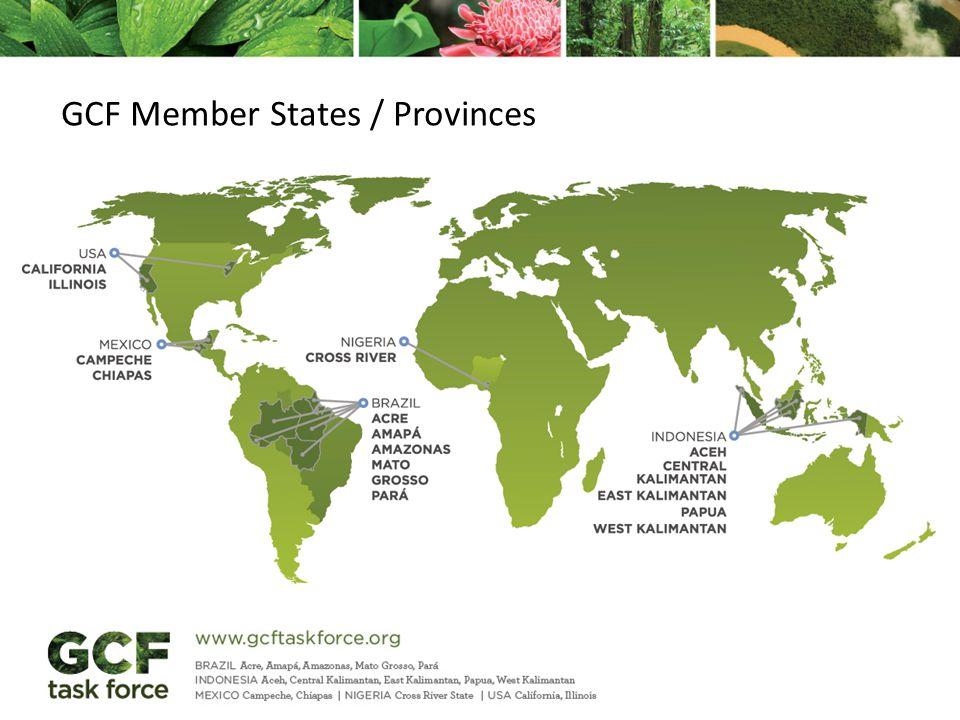 GCF Member States / Provinces