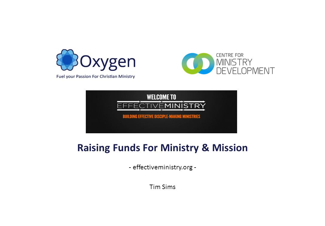 Reference Set Examples SecularMinistry & Mission Gramercy 2 2014-08-05 Raising Funds For Ministry & Mission