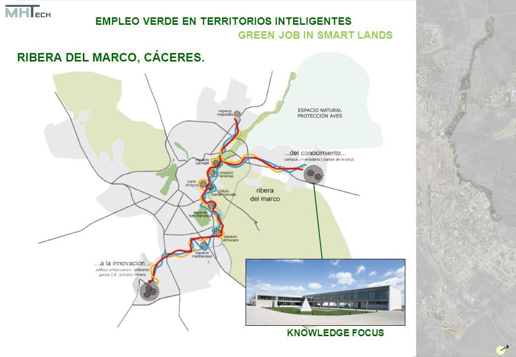 KNOWLEDGE FOCUS EMPLEO VERDE EN TERRITORIOS INTELIGENTES GREEN JOB IN SMART LANDS RIBERA DEL MARCO, CÁCERES.