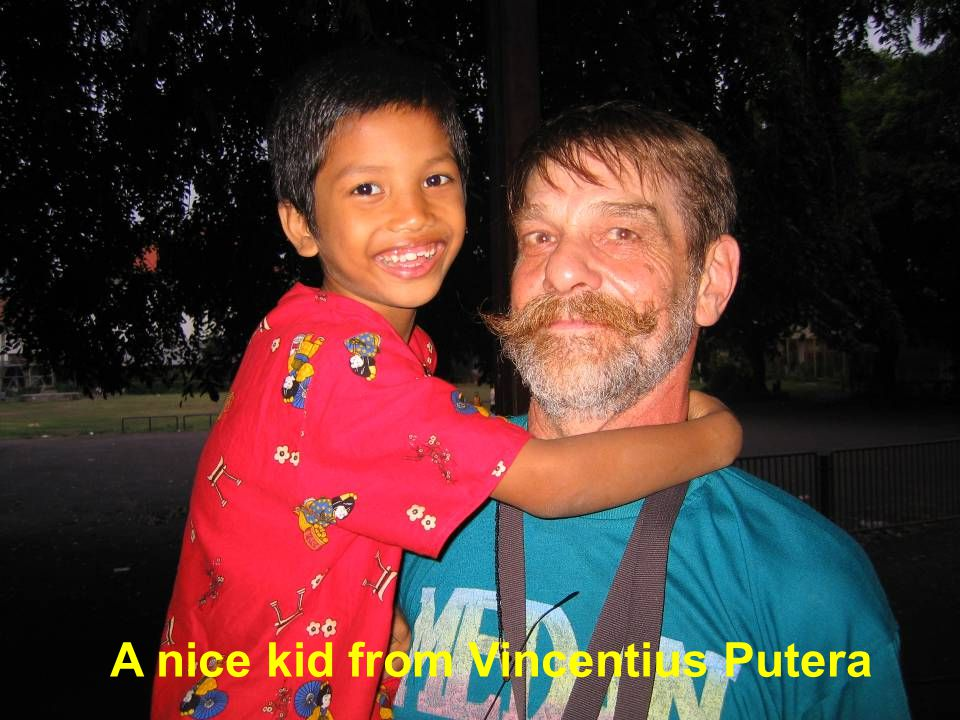 A nice kid from Vincentius Putera