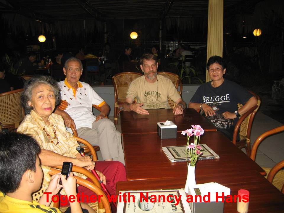 Together with Nancy and Hans